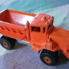 Hot Wheels Snow Plow Orange Oshkosh 1983