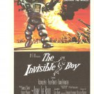 The Invisible Boy Forbidden Planet Lobby Card Repro 2006 Turner Entertainment Poster Promo