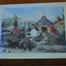 Lang Deluxe Notecards Red Round Barn Linda Nelson Stocks Box Seals