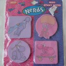 Nerds Sticky Notes N8305 4pk 100 Sheet Count NIP Nestle
