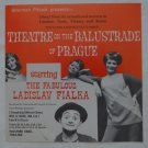 Ladislav Fialka Flier Theatre on the Balustrade of Prague Leaflet Vintage Mime 1971