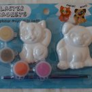 Colorbok Plaster Magents Pets 61839 To Paint Cat Dog Kitten Puppy