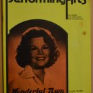 Performing Arts Wonderful Town Program June 1975 V9 #7 Nanette Fabray Chandler