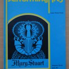 Performing Arts Mary Stuart Program Apr 81 Marsha Mason Michael Learned