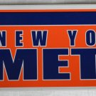 New York Mets NY Bumper Sticker SF Rico Industries MLB 2005 11x3