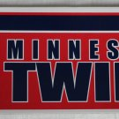 Minnesota Twins Bumper Sticker SF Rico Industries MLB 2002 11x3