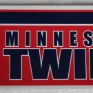 Minnesota Twins Bumper Sticker SF Rico Industries MLB 2002 11x3