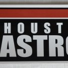 Houston Astros Bumper Sticker SF Rico Industries MLB 2004 11x3