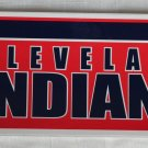 Cleveland Indians Bumper Sticker SF Rico Industries MLB 2005 11x3