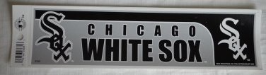 Chicago White Sox Bumper Sticker SF Rico Industries MLB 2005 11x3