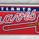 Atlanta Braves Bumper Sticker SF Rico Industries MLB 2005 11x3