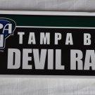 Tampa Bay Devil Rays Bumper Sticker SF Rico Industries MLB 2005 11x3