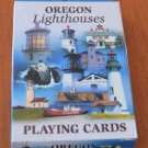 Oregon Lighthouses Playing Cards Deck NOS John Hinde Curteich NOS USA