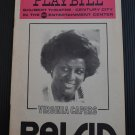 Playbill Shubert Theatre Raisin Virginia Capers February 1976