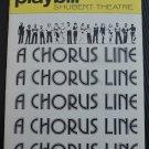 Playbill Shubert Theatre A Chorus Line 1977 Joe Bennett Pamela Blair