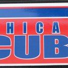 Chicago Cubs Bumper Sticker Rico Industries MLB 2005 11x3