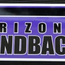 Arizona Diamondbacks Bumper Sticker Rico Industries MLB 2002 11x3