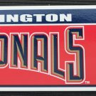 Washington Nationals Bumper Sticker Rico Industries MLB 2005 11x3