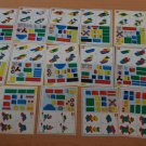 Lego Model Cards Only Lot 19 For Race To Build It Board Game Sled Hovercraft Boat