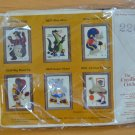 Creative Circle Needlepoint Kit 226 Goal Kick Soccer Bear Nan Iwasaki 1981 NOS