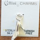Cellini Charm Shoe Pumps Heels Sterling Silver 925 New
