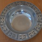 Wilton Bowl Uganda Serving Fruit Salad Metal RWP Made With Care 10.5in