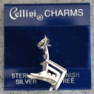 Cellini Charm Beach Lounge Chair Sterling Silver 925 New