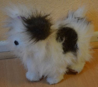 Furreal Dog White Brown Gray Spots 2008 Hasbro Bark Walk Fur Real Puppy