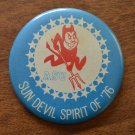 1976 Vintage Button ASU Sun Devil Spirit of '76 Arizona State University Pin