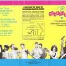 The Groundlings Leaflet Comedy Troupe Los Angeles 1980&#39;s
