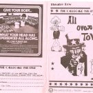 All Over Town Theatre Row Callboard Murray Schlagal Don Enoch