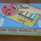 Are You On The Ball Skill Tester Milton Bradley 4471 Game 1964 In Box