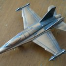 Pencil Sharpener Airplane Fighter Jet Copper Color Metal