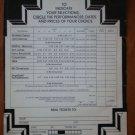 Universal Amphitheatre Ticket Order Form 1973 Mail In Grateful Dead Denver WAR