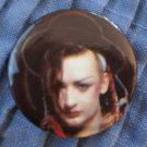 Boy George Culture Club Pin Button Badge 1980s Vintage 1.25
