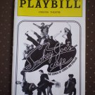 Smokey Joe Cafe Playbill Virginia Theatre 1999