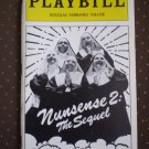 Nunsense 2 The Sequel Playbill Douglas Fairbanks 1994
