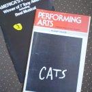 Performing Arts Cats Shubert 1985 Musical Playbill Program