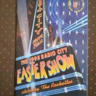 1995 Radio City Easter Show Rockettes Program