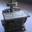 Vintage Metal Pencil Sharpener Stove Queen Die Cast