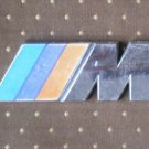 BMW M Metal Emblem Vintage Bimmer Chrome