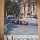 Monaco Grand Prix Poster Vintage Looart Colorado Springs Monte Carlo 1960's