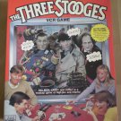 3 Stooges VCR Game Pressman 1986 VHS Three