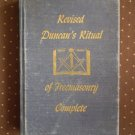 Revised Duncan Ritual Of Freemasonry Complete 1956 Cook