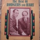 Best of Rodgers Hart Tony Esposito Piano Solos Sheet Music Songbook