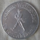 Houston Oilers Coin Schedule Johnnie Walker Scotch Silvertone Metal 1972