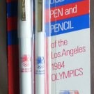Pentel Olympics Pen Pencil Official Licensed 1984 Los Angeles Limited Edition