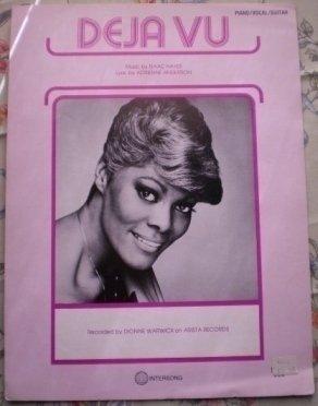 Deja Vu Sheet Music Elton Isaac Hayes Adrienne Anderson