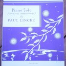 Glow Worm Sheet Music Piano Solo Paul Lincke BMC 124096
