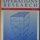 OPERATIONS RESEARCH Volume 42 Number 2 Mar-Apr 1994 Published by ORSA